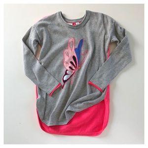 A 6-7Y GAP butterfly light sweater tunic